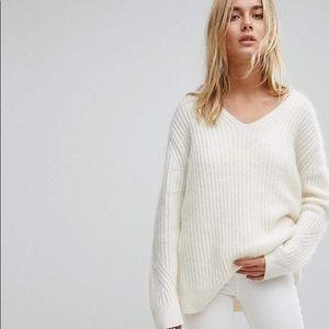 All Saints Ade V Neck Sweater